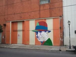 Carlos Gardel in Almagro