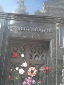 Graf Evita Peron